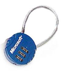 微软公司 密码锁 礼品